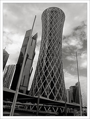 Towers 8 ... (bijan2008 ... Travelling ...) Tags: doha qatar