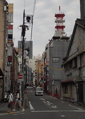 (tip-d) Tags: road street camera old city beauty japan digital lens photography alley olympus scene snap nagoya  zuiko omd    em5