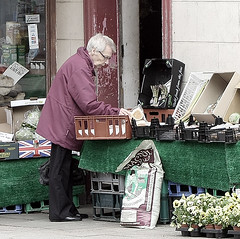 279 of 365 - Roll play (A picture a day every day) Tags: old woman white shop bread stall buy older roll 365 buying pensioner shpping timlarge tacraftphotography tacrafts