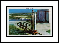 NASA Postcard Folder, 1964 (Cosmo Lutz) Tags: postcard nasa apollo 1964 saturnv