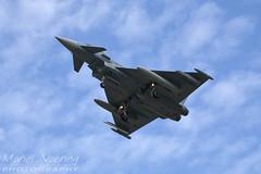 Eurofighter EF-2000 Typhoon S | GAF (Maril Nabring Photography) Tags: plane force flag aircraft aviation air jet german eurofighter base typhoon airbase leeuwarden gaf luftwaffe frisian 2013 ehlw