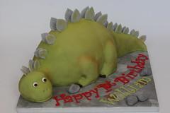 stegosaurus cake (Hannah Loves Cake) Tags: dino dinosaur prehistoric stegosaurus