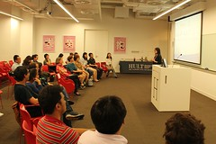 Speech From Annie Hou (iHult) Tags: up shanghai buddy