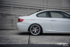 BMW_328i_MRR_GT8_WHEELS_HS_02 (MRR WHEELS) Tags: white silver wheels tires bmw rims e90 328i