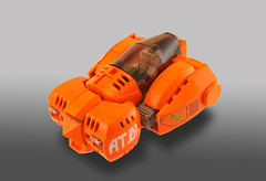 Go!Car (Titolian) Tags: orange car lego space go transport future civilian brickfair