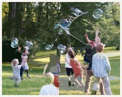 Bubbleman Slide (lclower19) Tags: nikon massachusetts celebration solstice concord bubbleman hss 18200mm d90 pse9
