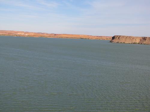 Ounianga Kebir. Lago Yoa