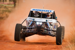 One of the racers at Finke 2013 (Silentmind8) Tags: red 2 two race michael nikon photographer zoom entirely thomas alice centre dune fast bikes australia tire center gas dirt stop springs uninteresting emergency northern buggy fuel services ahern territory finke 2014 2013 wwwentirelyuninterestingcom