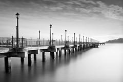 Pier 7 #4 (Ron Rothbart) Tags: sanfrancisco california longexposure blackandwhite bw water monochrome pier waterfront nd sanfranciscobay fishingpier pier7 neutraldensityfilter pier112 10stopfilter