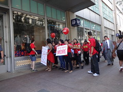 Fast Food Workers Strike/ Protest in Chicago
