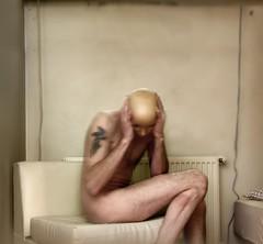Fobia (ingilee) Tags: portrait people selfportrait color wall pose naked nude photo iceland chair mask room content surface reykjavik photograph dreams dreamy ísland dreamscape restless ingi 24105mm 2013 hátún ingiörn ingiörnhafsteinsson ingilee