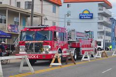 Garfield Fire Department Truck 4 (Triborough) Tags: truck newjersey nj firetruck fireengine ladder wildwood tiller spartan tda gfd capemaycounty ladder4 truck4 garfieldfiredepartment