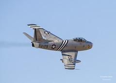 F-86A Sabre (jonathan_ed1984) Tags: aircraft jet korea airshow sabre southport 2013 f86a southportairshow2013
