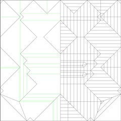 Flying Atlas Beetle CP (tskorigami) Tags: white paper insect square origami box leg segment abdomen pleating boxpleating