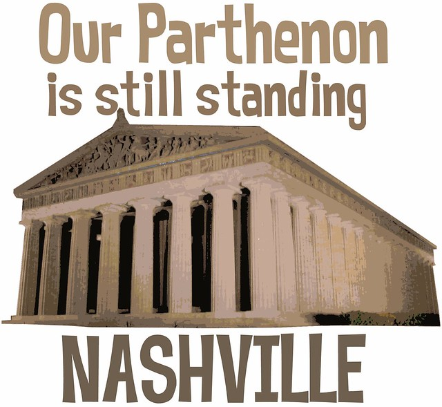 Things for sale: T-Shirt #12: Our Parthenon is Still Standing