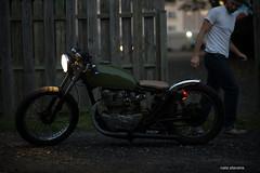 Honda CB 450 (nate.stevens) Tags: honda nikon 85mm motorcycle nikkor f18 cb350 d600 bobber