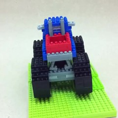 nanoblock Monster Truck (inanoblock) Tags: monster truck toy lego bricks veh