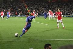 Juan Mata's free kick