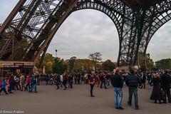 Eiffel Tower - Pilier Nord (Ennio Fratini) Tags: street travel paris france îledefrance eiffeltower streetphotography olympus viajes monuments francia 2009 ef e510 zd 1260mm