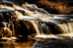 Isaan waterfall (imagesbystefan.com) Tags: travel sunset sea fall nature water rock river landscape thailand outdoors waterfall rocks asia stream seasia afternoon natural outdoor small smooth silk nobody hdr streaming silky a77 sisaket phtomatix tamron70200 khukhan