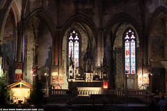 FR14 1838 Cathédrale de St-Maurice, Mirepoix, Ariège (Templar1307) Tags: longexposure france church lowlight cathedral stainedglass nativity ariege eglise mirepoix midipyrenees stmaurice saintmaurice