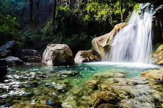 The Neelkanth Waterfall