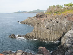 Jusangjeolli cliff, South Korea. (melrick72) Tags: sea cliff water rocks korea jusangjeolli jusangjeollicliff