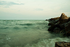 IMG_8234 (Daniel.Dimitrov) Tags: longexposure sea beach waves bulgaria varna