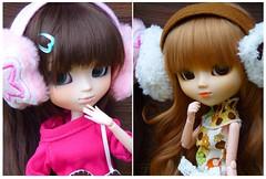 Télétubies : Litchi et Hitomi les nouvelles recrues! (~Louna~) Tags: wig pullip nina custo obitsu ddalgi télétubies