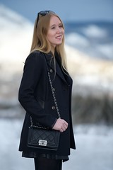 In The Mountains (FASHION SNAG) Tags: winter boy mountains leather fashion bag fur colorado boots top rocky style battle skirt purse crop quilted cropped aspen chanel handbag oli peacoat shearling alaia ragbone ootd loveleather tornby