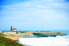 Lighthouse Point (scmatt9) Tags: ocean sea sky santacruz lighthouse nikon sigma 50150mm d7000