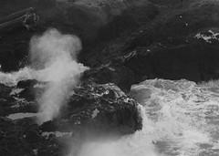 Smoke Monster (gebodogs) Tags: ocean sea oregon lava geology volcanic yachats basalt capeperpetua cookschasm