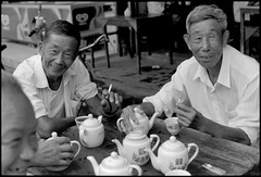 500 Tea Drinkers Part3 Zhejiang Tongxiang  Village    2005-58 (8hai - photography) Tags: 2005 village tea yang 500 bahai hui drinkers zhejiang part3  tongxiang
