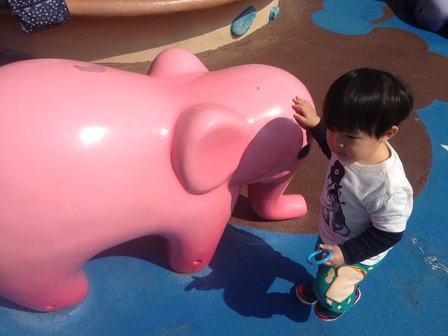 その後はトゥーンタウンの広場で腹ごなし。|東京ディズニーランド