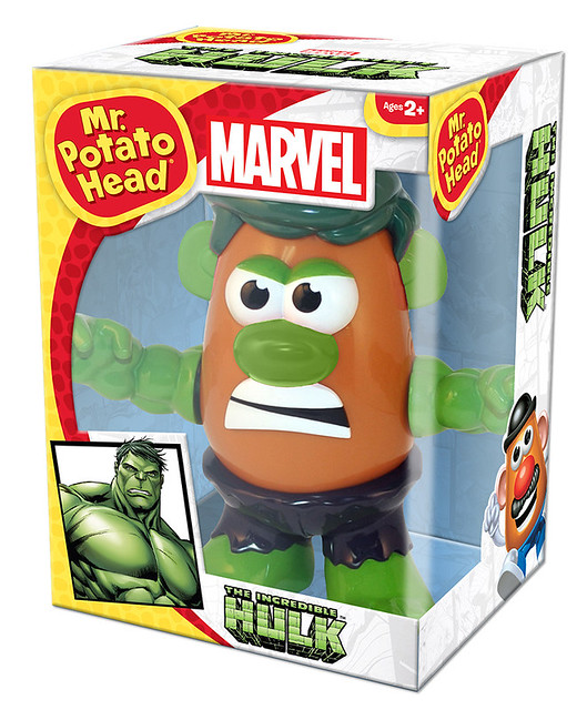 【蛋頭先生】MARVEL X Mr. Potato Head – 浩克 Hulk