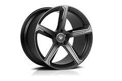 VSE-005 Forged Monoblock (Vorsteiner) Tags: black aluminum 5 five spoke wheels forged matte directional vse vorsteiner vse005