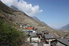le village  de Branson Valais Suisse (luka116) Tags: schweiz switzerland village suisse swiss svizzera branson wallis valais 2014