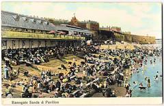 Ramsgate - Sands (pepandtim) Tags: new york old max london germany early postcard nostalgia nostalgic pavilion sands ramsgate ettlinger 22rsp44