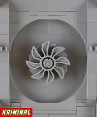 Ventilation system (kr1minal) Tags: classic lago space style scifi neo gundam base moc