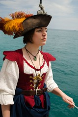 Maeve O'Malley on the Windy (Pahz) Tags: chicago pirates windy lakemichigan greatlakes navypier tallship bristolrenaissancefaire chicagoillinois tallshipwindy bristolpirates
