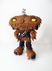 BadWookiee (eleni creative) Tags: nerd star robot starwars geek bad felt scifi wars wookiee chewbacca badrobot jjabrams