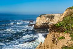 Santa Cruz Trip - Jan 2015 - 82 (www.bazpics.com) Tags: ocean california santa ca morning usa sun lighthouse america sunrise point dawn coast shark early unitedstates pacific cove pigeon cruz surfers coastline fin davenport