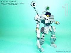 Black Ice Team Six One (icycruel) Tags: team lego hard suit combat six spec ops moc