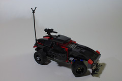 Bullet Spinner- Top (BlueShift 12) Tags: macro toy lego brickarms gibrick