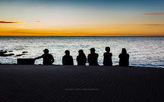 Summer with friends on a beach, Australia (Robert Lang Photography) Tags: ocean blue camping sunset people orange black color colour water beer silhouette landscape fun sand beers pastel stock memories group wide drinking australia together drinks alcohol mates southaustralia esky bestfriends frenchmans eyrepeninsula nofaces canon5dmkiii robertlangportlincoln robertlangphotography wwwrobertlangcomau robertlangsouthaustralia summerwithfriendsonabeachaustralia