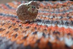 Knitting in wool (sifis) Tags: color art texture wool lumix knitting sheep athens hobby greece button handknitting lx7 sakalak πλεκω πλέξιμο μαλλιάσακαλάκ