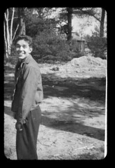 ms 1943-54 AB-45 (ndpa / s. lundeen, archivist) Tags: cambridge boy people blackandwhite bw 1948 film college monochrome smile smiling 35mm blackwhite student friend mit massachusetts nick slide scratches dirty 1940s damaged scratched 1945 youngman sliceoflife 1947 youngpeople 1946 dewolf nickdewolf photographbynickdewolf locationunidentified