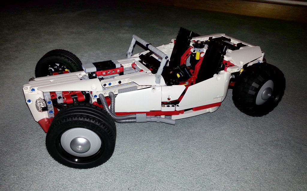 lego technic hot rod instructions