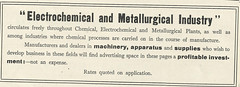 Electrochemical and Merallurgical Industry (Kitmondo.com) Tags: old colour history industry work vintage magazine advertising photo industrial factory technology tech working machine advertisement equipment business company machinery advert electro labour historical kit oldequipment publication metalworking oldadvert oldmagazine electrochemical oldwriting vintageequipment oldadvertisment oldliterature vintagepublication oldpublication machinerypublication