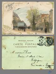 PARIS - 16. - Boulevard Bonne-Nouvelle (bDom [+ 3 Mio views - + 40K images/photos]) Tags: paris 1900 oldpostcard cartepostale bdom